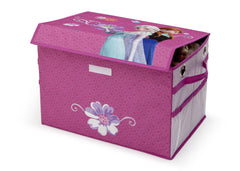 Delta Children Frozen Fabric Toy Box, Left View Props Style 1 a2a