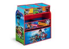 Delta Children PAW Patrol Wooden Toy Organizer, Right View a1a