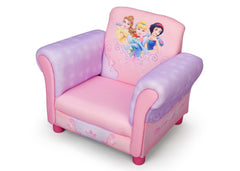 Delta Children  Princess Upholstered Chair, Right View a2a