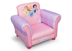 Delta Children  Princess Upholstered Chair, Left View a1a