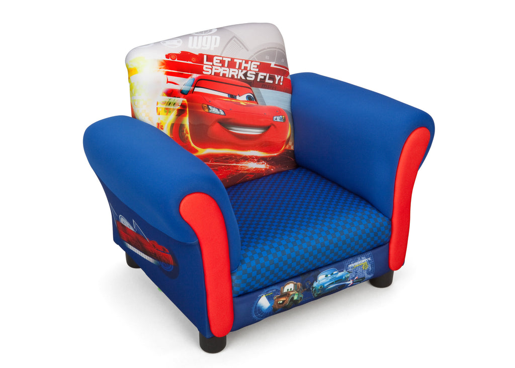Delta Children Cars Upholstered Chair Right view a1a