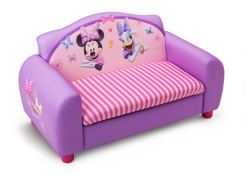 Minnie Mouse Upholstered Sofa with Storage