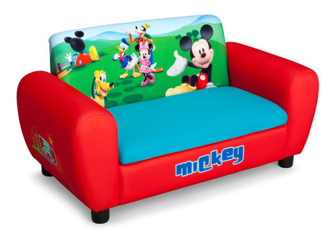 Mickey Mouse Upholstered Sofa with Storage