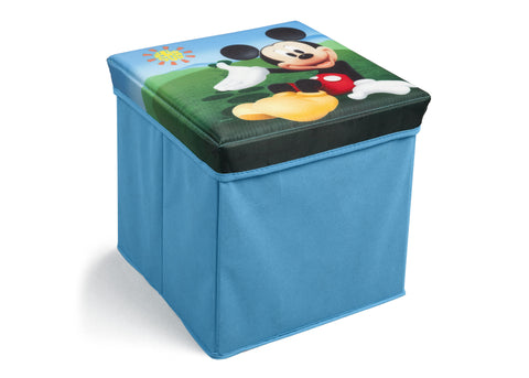 Mickey Mouse Collapsible Storage Ottoman