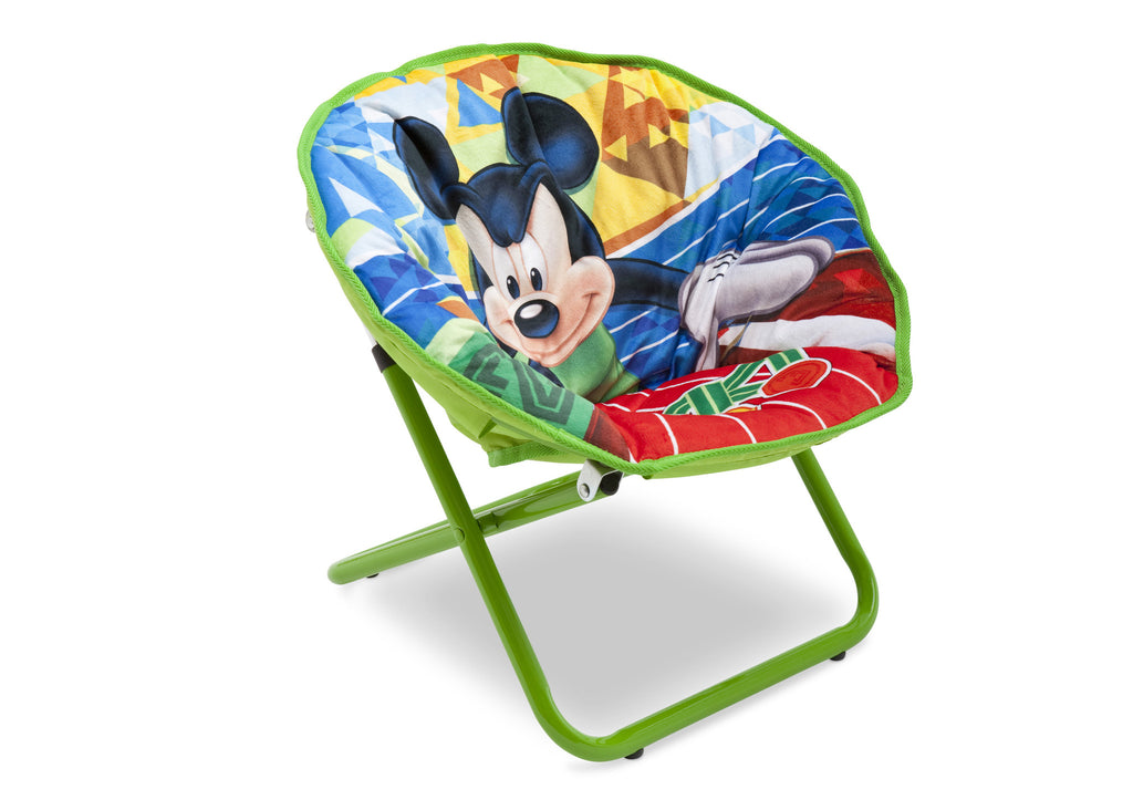 Delta Children Mickey Mouse Saucer Chair Right View a1a