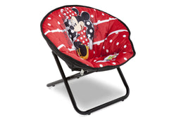 Delta Children Minnie Mouse Saucer Chair Right View a1a