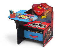 Delta Children Cars Chair Desk with Storage Bin Left View a2a