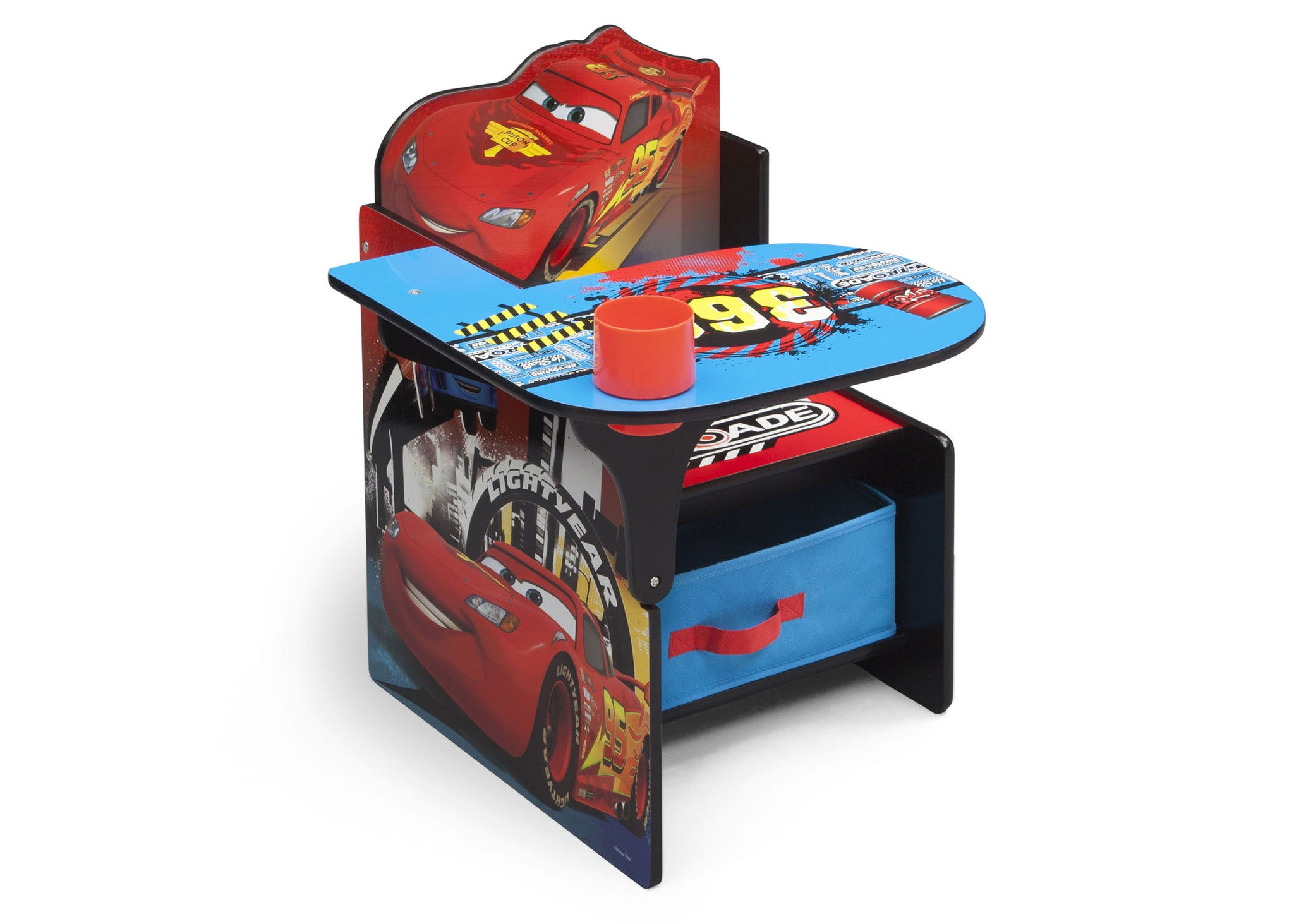 Cars Chair Desk With Storage Bin Delta Children Eu Pim
