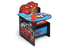 Delta Children Cars Chair Desk with Storage Bin Right View a1a