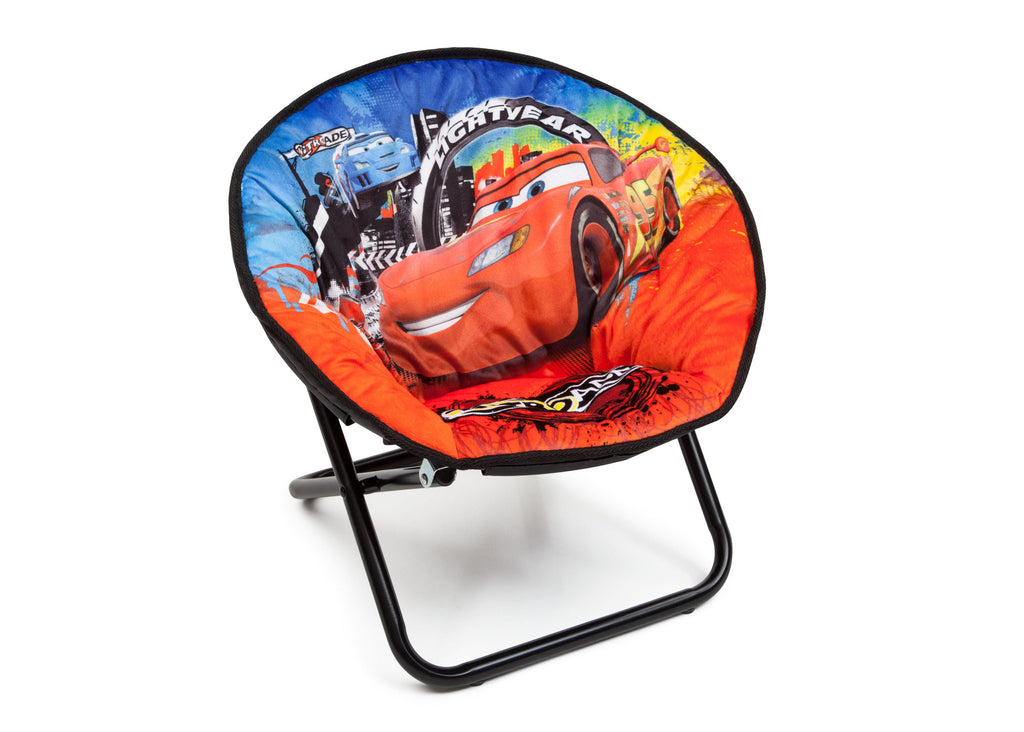 Delta Children Cars Saucer Chair Right View a1a