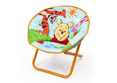 Delta Children Winnie The Pooh Saucer Chair Left View a2a