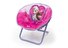 Delta Children Frozen Saucer Chair Left View a2a