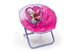 Delta Children Frozen Saucer Chair Right View a1a