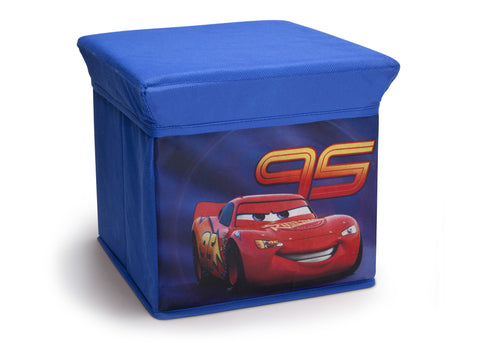Cars Collapsible Storage Ottoman