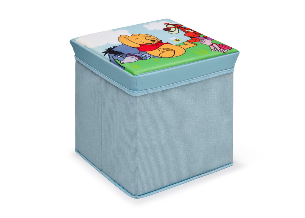 Delta Children Winnie the Pooh Collapsible Storage Ottoman, Right View Style 1 a1a