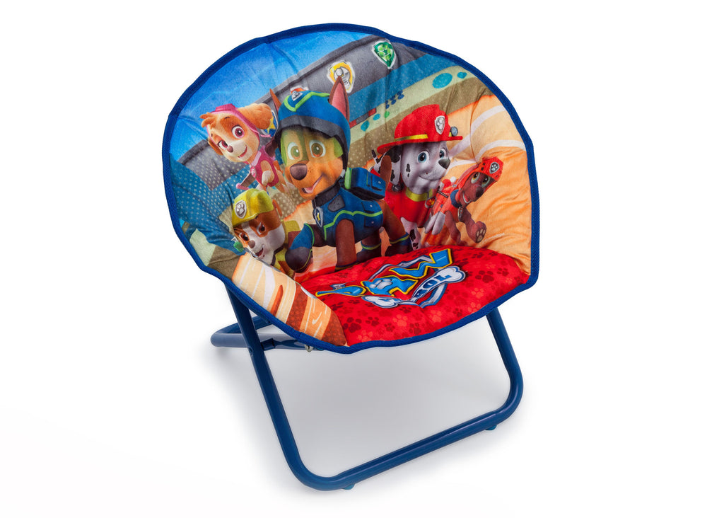 Delta Children Paw Patrol Saucer Chair Right View a1a