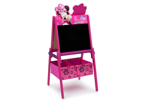 Minnie Mouse Wooden Easel With Storage
