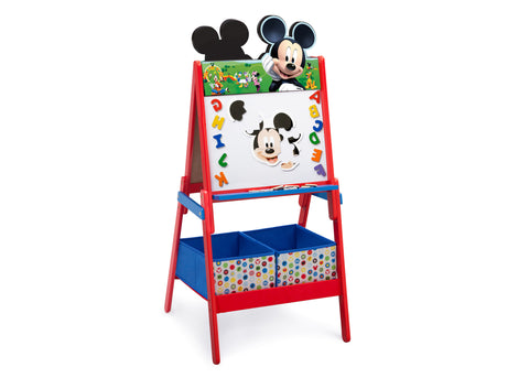 Mickey Mouse Wooden Easel With Storage