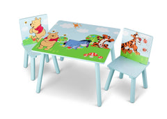 Delta Children Winnie The Pooh Table and Chair Set, Right View a2a