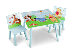 Delta Children Winnie The Pooh Table and Chair Set, Left View a1a