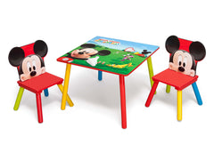 Delta Children Mickey Mouse Table and Chair Set Left Angle a2a