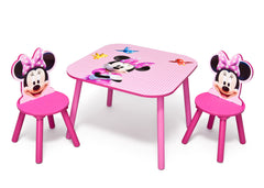 Delta Children Minnie Mouse Table and Chair Set, Right View a2a