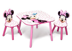 Delta Children Minnie Mouse Table and Chair Set, Left View a1a