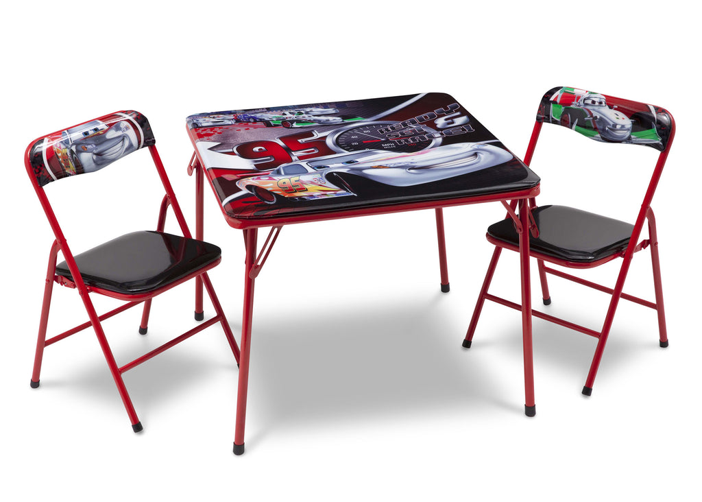 Delta Children Cars Folding Table and Chair Set Right View a1a