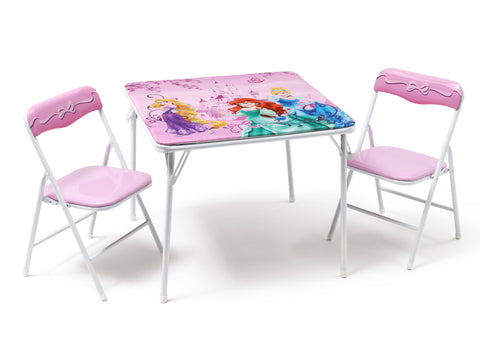 Princess Folding Table and Chair Set