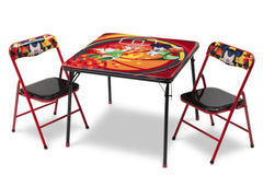 Delta Children Cars Folding Table and Chair Set Left View a2a