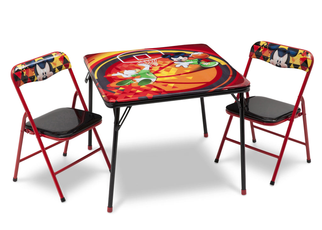 Delta Children Mickey Mouse Folding Table and Chair Set Right View a1a