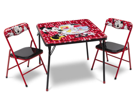 Minnie Mouse Folding Table and Chair Set