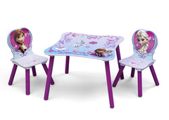 Delta Children Frozen Table and Chair Set Left View a2a