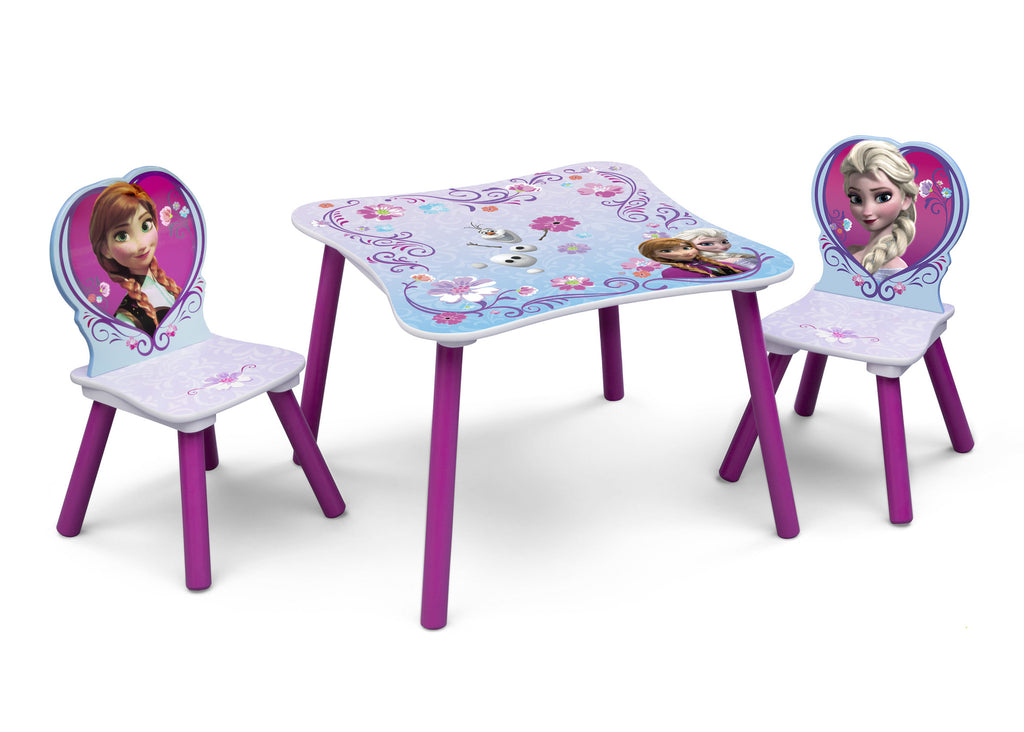 Delta Children Frozen Table and Chair Set Right View a1a