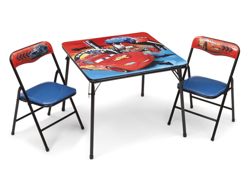Cars Folding Table and Chair Set