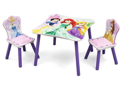 Delta Children Princess Table and Chair Set Left View a2a
