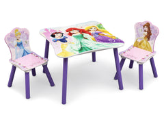 Delta Children Princess Table and Chair Set Right View a1a