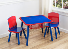 Delta Children Generic Blue / Red Table and Chair Set Room View a0a