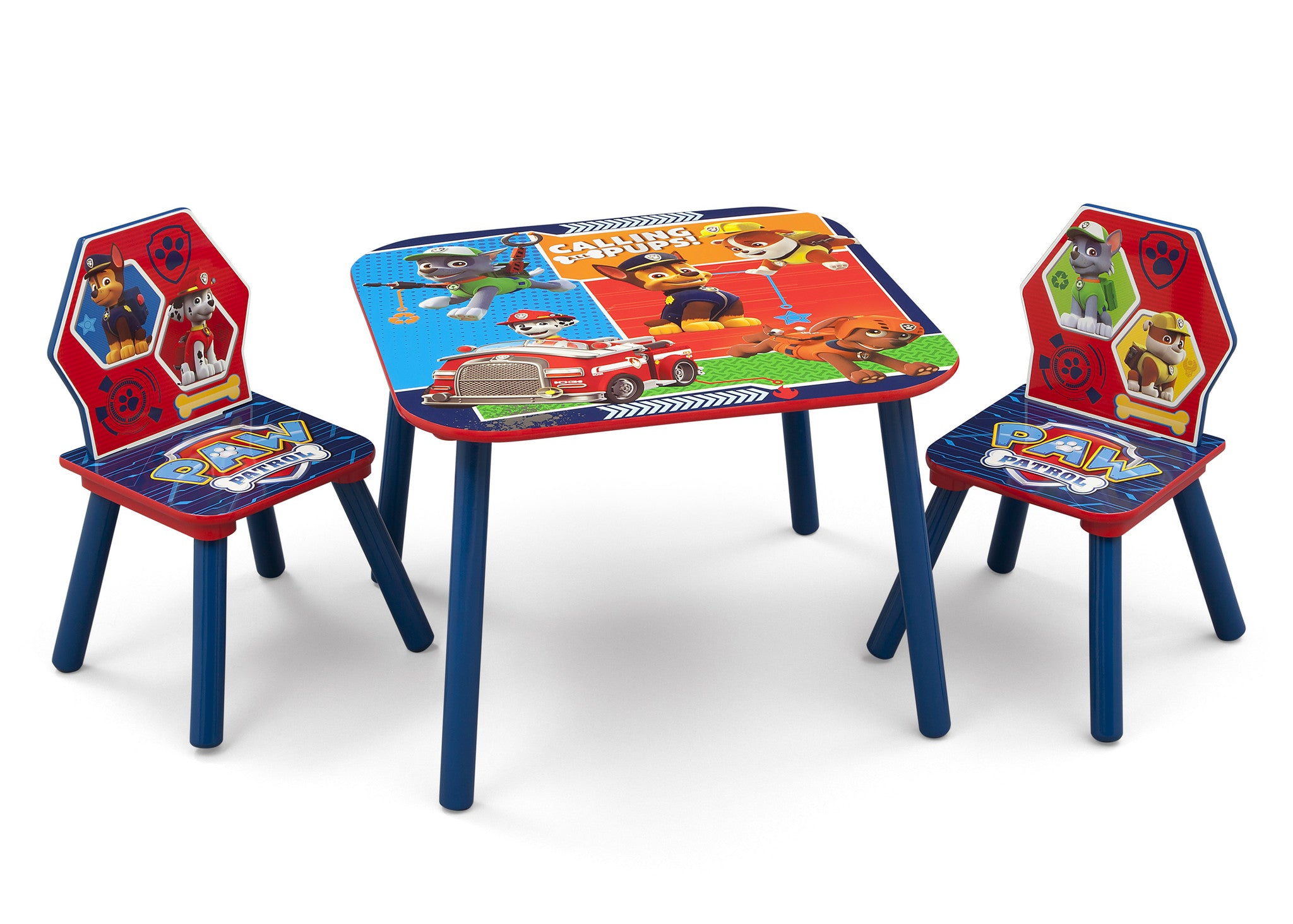 Delta Children PAW Patrol Table and Chair Set, Left View a1a