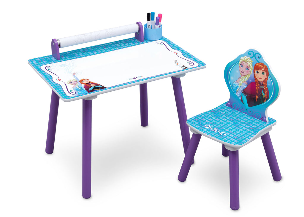 Delta Children Frozen Activity Desk right View a1a
