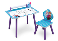 Delta Children Frozen Activity Desk with Paper Roll with Props a3a