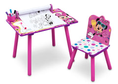 Delta Children Minnie Mouse Activity Desk with Paper Roll a2a
