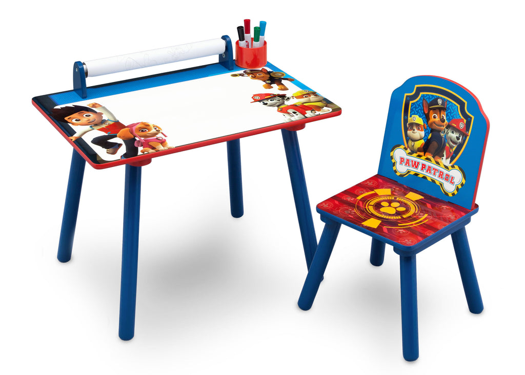 Delta Children PAW Patrol Art Desk, Right View a1a