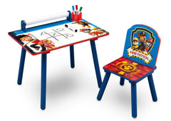 Delta Children PAW Patrol Art Desk, Right View with Props a3a