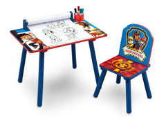 Delta Children PAW Patrol Art Desk, Right View with Paper Roll a2a