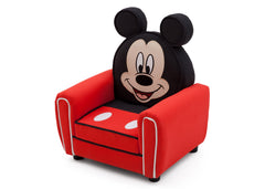 Delta Children Mickey Mouse Upholstered Chair with Ears Left Side View a2a