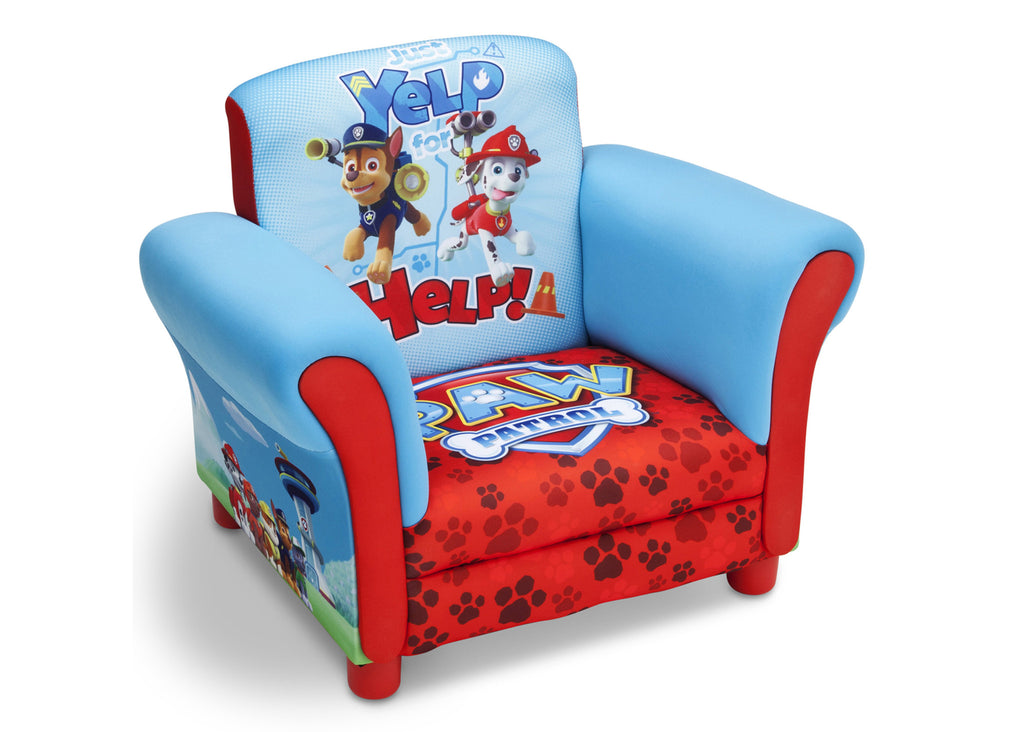 Delta Children PAW Patrol Upholstered Chair, Left View, a1a