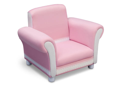 Generic Pink Upholstered Chair