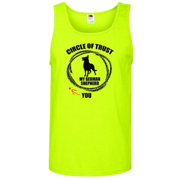 Circle of Trust German Shepherd - Men's Tank Top