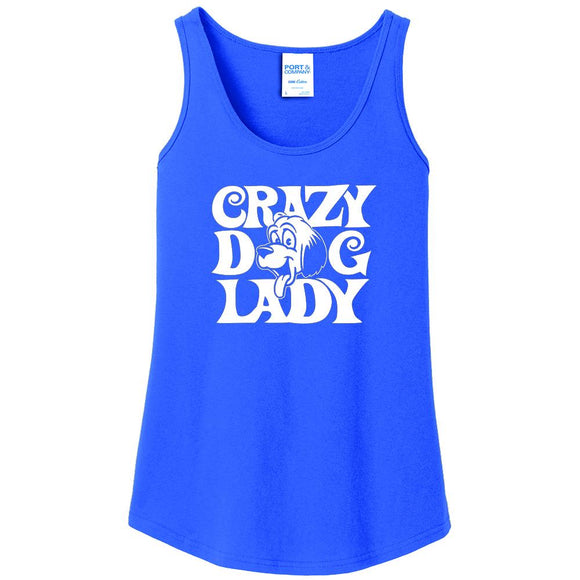 Crazy Dog Lady - Women's Tank Top